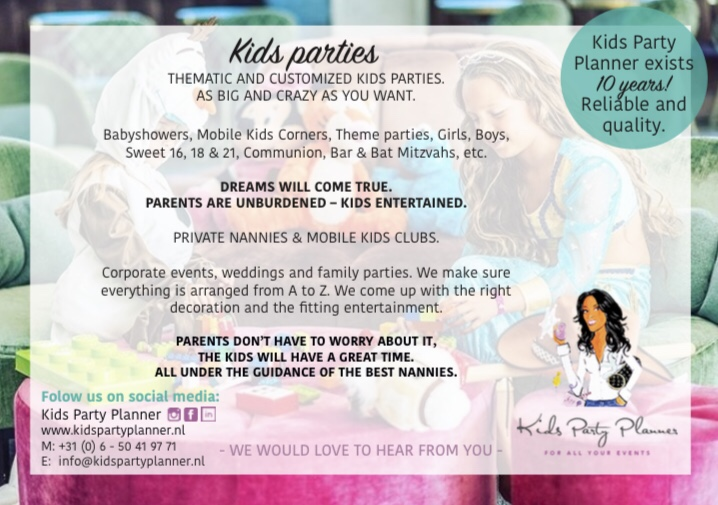 Kids Party Planner 10 Years!